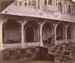 Rai Angan or King's Porch, City Palace, Udaipur
